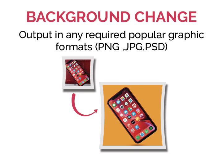 Background Change service