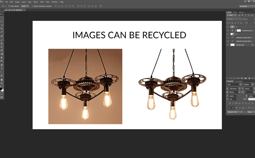 IMAGES CAN BE RECYCLED