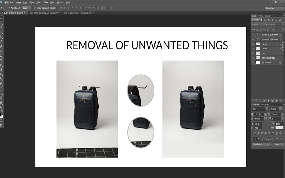 REMOVAL OF UNWANTED THINGS