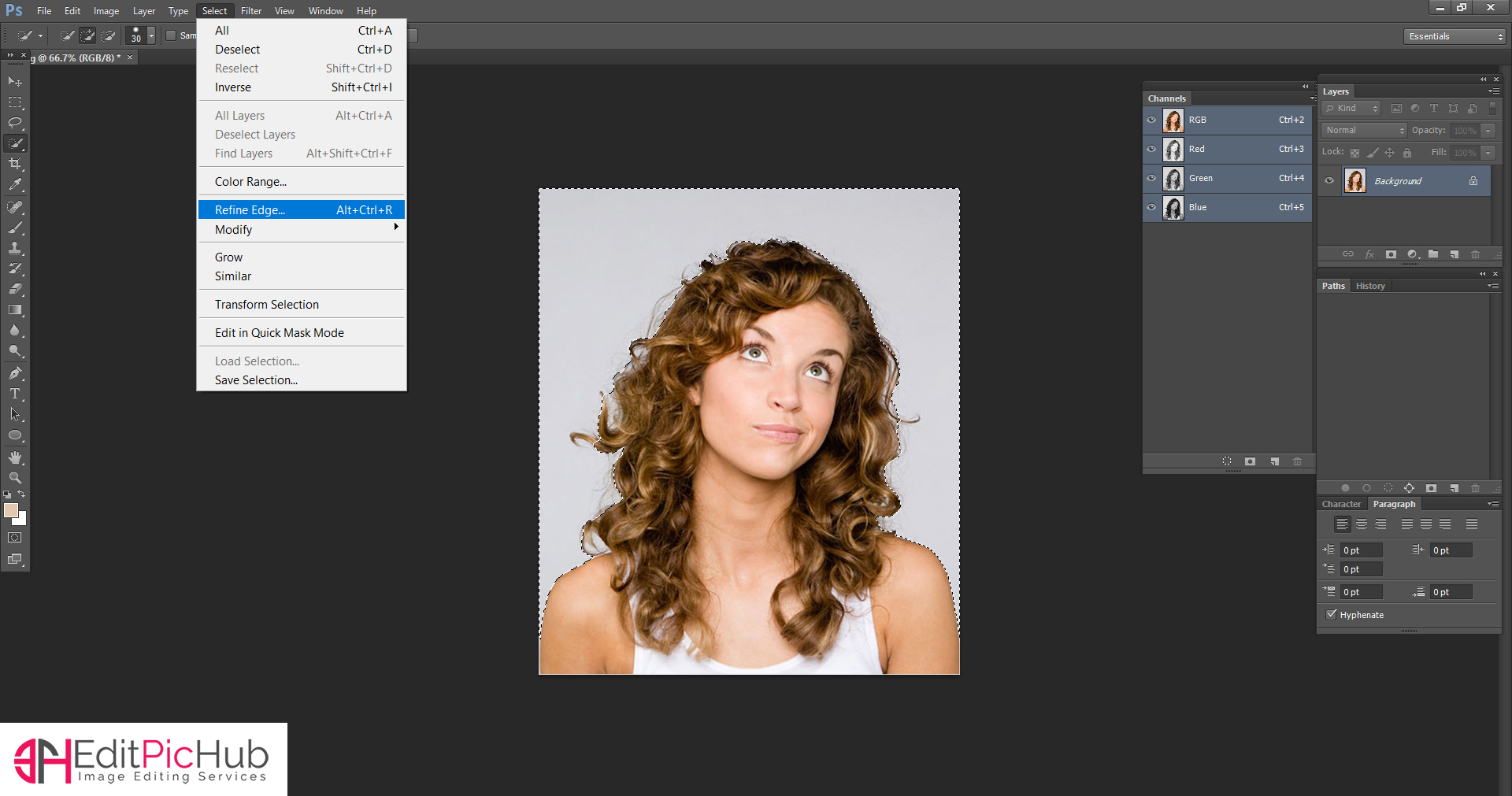 HOW TO REMOVE BACKGROUND
